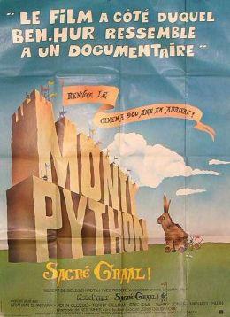 """Постер к фильму """"Монти Пайтон и Священный Грааль"""" /Monty Python and the Holy Grail/ (1975)"""