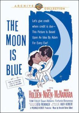 "Постер к фильму ""Синяя Луна"" /The Moon Is Blue/ (1953)"