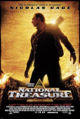 """Постер к фильму """"Сокровище нации"""" /National Treasure/ (2004)"""