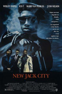 """Постер к фильму """"Нью-Джек Сити"""" /New Jack City/ (1991)"""