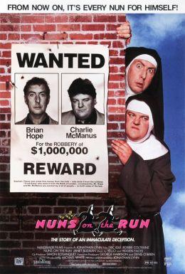 "Постер к фильму ""Монашки в бегах"" /Nuns on the Run/ (1990)"