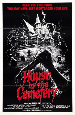 "Постер к фильму ""Дом на краю кладбища"" /The House by the Cemetery/ (1981)"