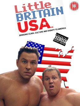 "Постер к фильму ""Ваша Бриташа в Америке"" /Little Britain USA/ (2008)"