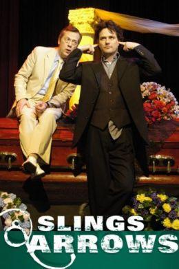 "Постер к фильму ""Пращи и стрелы"" /Slings and Arrows/ (2003)"