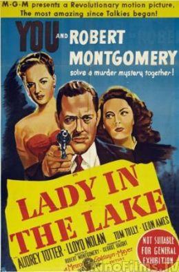 "Постер к фильму ""Леди в озере"" /Lady in the Lake/ (1947)"