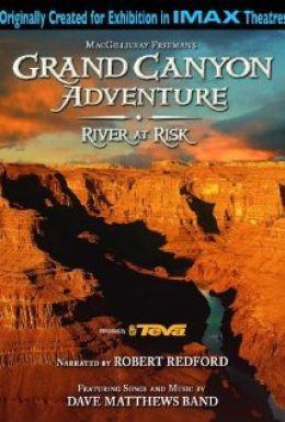 """Постер к фильму """"Приключение в Большом каньоне 3D: Река в опасности"""" /Grand Canyon Adventure: River at Risk/ (2008)"""
