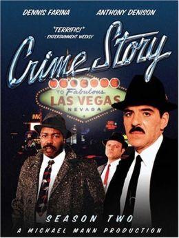 """Постер к фильму """"Криминальная история"""" /Crime Story/ (1986)"""
