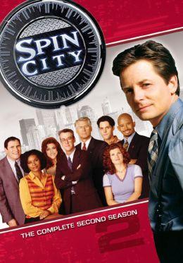 """Постер к фильму """"Крученый город"""" /Spin City/ (1996)"""