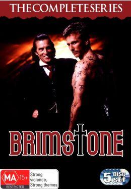 """Постер к фильму """"Беглец из преисподней"""" /Brimstone/ (1998)"""