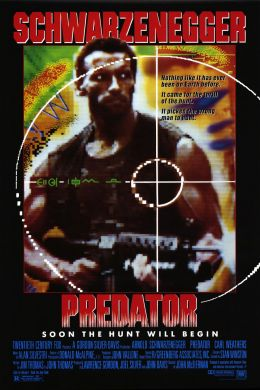 "Poster for the movie ""Predator"" / Predator / (1987)"
