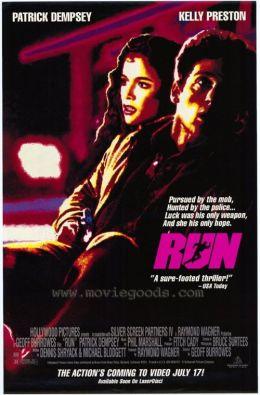 """Постер к фильму """"Беги"""" /Run/ (1991)"""