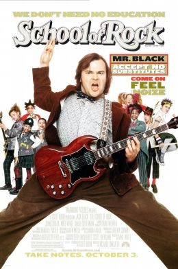 """Постер к фильму """"Школа рока"""" /The School of Rock/ (2003)"""