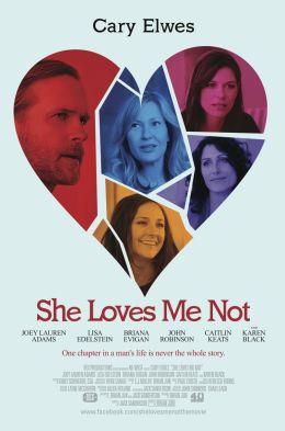 """Постер к фильму """"She Loves Me Not"""" /She Loves Me Not/ (2013)"""