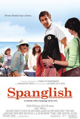 """Постер к фильму """"Испанский-английский"""" /Spanglish/ (2004)"""