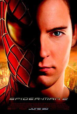 """Постер к фильму """"Человек-паук 2"""" /Spider-Man 2/ (2004)"""