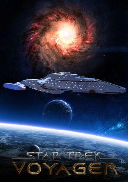 """Постер к фильму """"Звездный путь: Вояджер"""" /Star Trek: Voyager/ (1995)"""