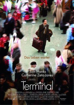 """Постер к фильму """"Терминал"""" /The Terminal/ (2004)"""