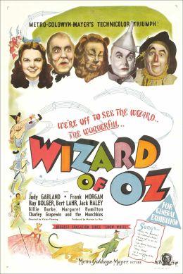 """Постер к фильму """"Волшебник страны Оз"""" /The Wizard of Oz/ (1939)"""