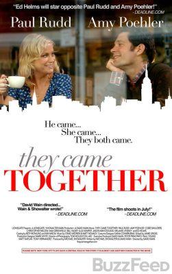 "Постер к фильму ""Они пришли вместе"" /They Came Together/ (2014)"