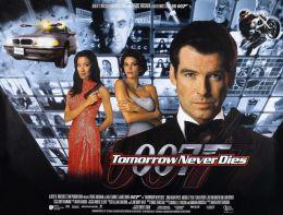 "Постер к фильму ""Завтра не умрет никогда"" /Tomorrow Never Dies/ (1997)"