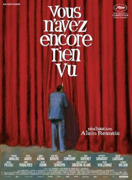 """Постер к фильму """"Вы еще такого не видели"""" /Vous n'avez encore rien vu/ (2012)"""