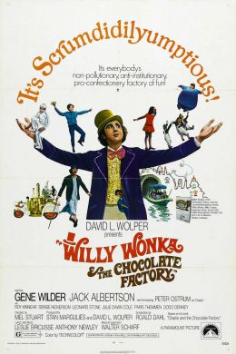 "Постер к фильму ""Вилли Вонка и шоколадная фабрика"" /Willy Wonka & the Chocolate Factory/ (1971)"