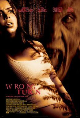 "Постер к фильму ""Поворот не туда"" /Wrong Turn/ (2003)"