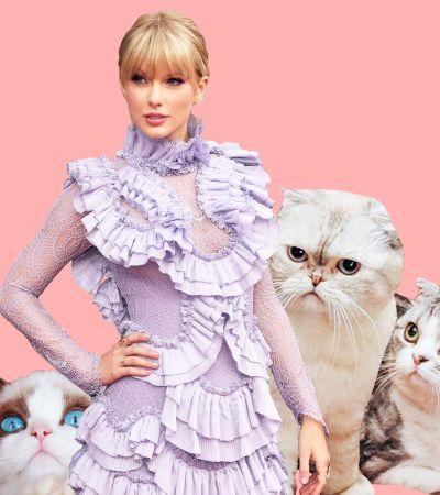 Тэйлор Свифт записала песню к фильму «Кошки»