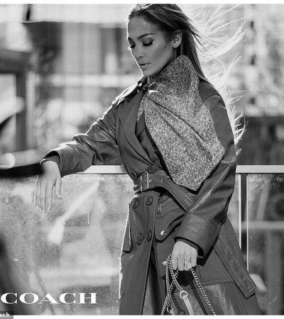 Дженнифер Лопез стала новым лицом американского бренда аксессуаров Coach