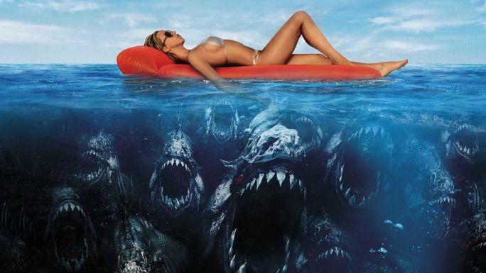 Секс море кровища пираньи фильм