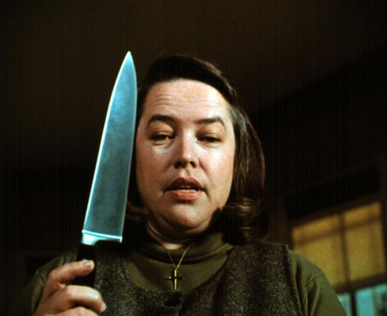 misery novel and annie wilkes A trained nurse, annie tends to paul`s wounds while keeping him locked in the guest bedroom of her remote farmhouse horrified to discover that her favorite author has killed off her favorite fictional heroine-the 19th century adventuress misery chastain-in his latest novel, annie demands that paul sit down at her rickety card.
