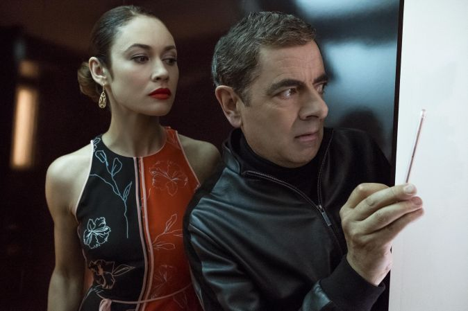 """Shot from the film """"Agent Johnny English 3.0"""""""