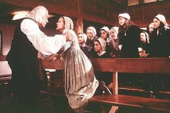 """crucible movie summary The movie is a screen version of arthur miller's play """"the crucible"""", which is set in 17th century, when humanity perceived the world in a very different way people were puppets in the hands of the church and the court the filmmakers tried to portray what happened in the late 17th century in salem, massachusetts."""