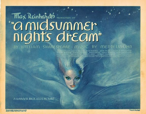 the themes of love and romance in william shakespeares a midsummers night dream
