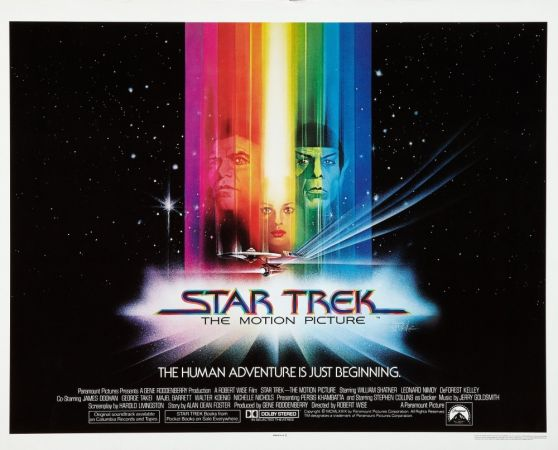 Star trek movie posters for sale