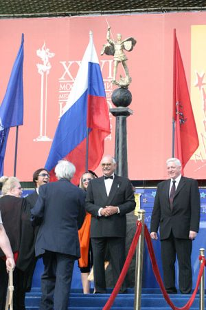 Закрытие Московского Кинофестиваля-2004
