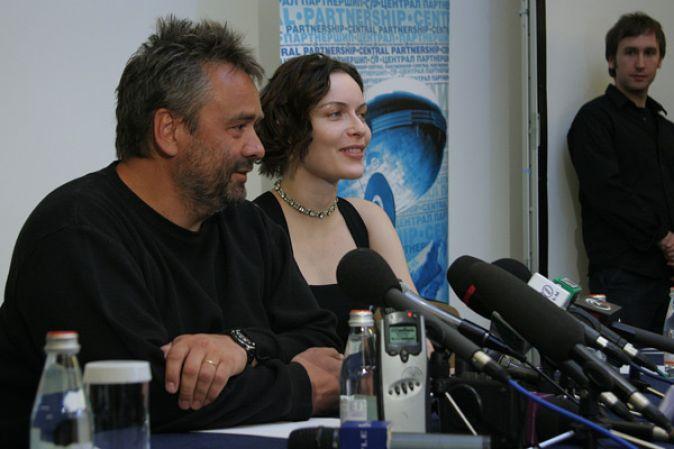 Пресс-конференция Люка Бессона и Ри Расмуссен