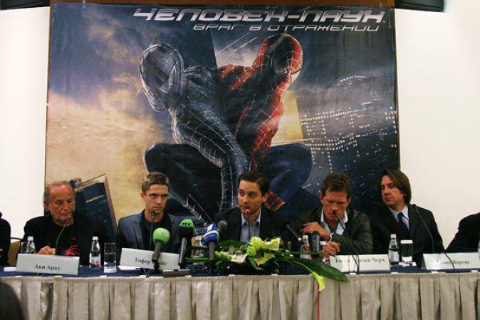 Пресс-конференция, посвященная премьере фильма «Человек-паук: враг в отражении»