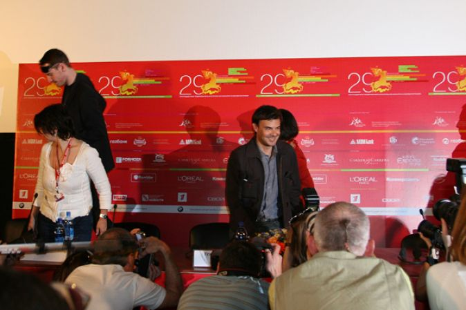 Пресс-конференция Франсуа Озона