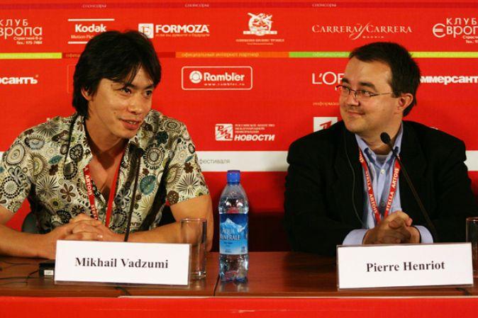 Пресс-конференция, посвященная фильму «Шима» (Узбекистан)