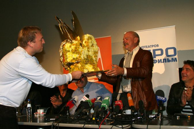 Пресс-конференция Никиты Михалкова и съемочной группы фильма «12»