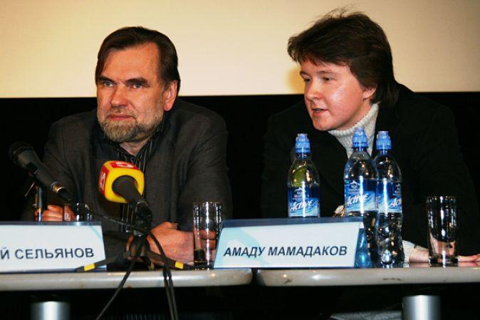 Пресс-конференция Сергея Бодрова и съемочной группы фильма «Монгол»