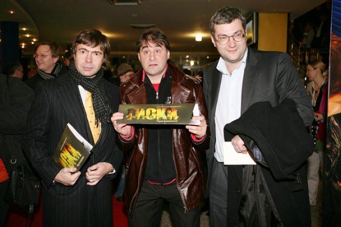 Премьера фильма «Тиски» в киноконцертном комплексе «Октябрь»