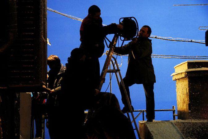 Съёмки фильма «Ирония судьбы. Продолжение»