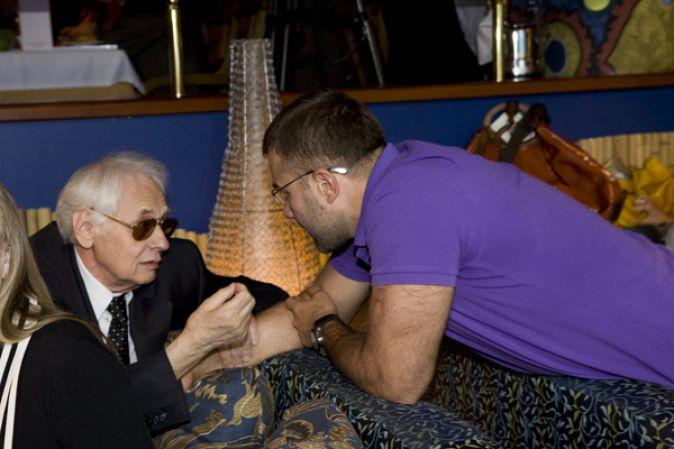 Торжественный прием, организованный Фондом помощи ветеранам кино «Урга – территория любви»