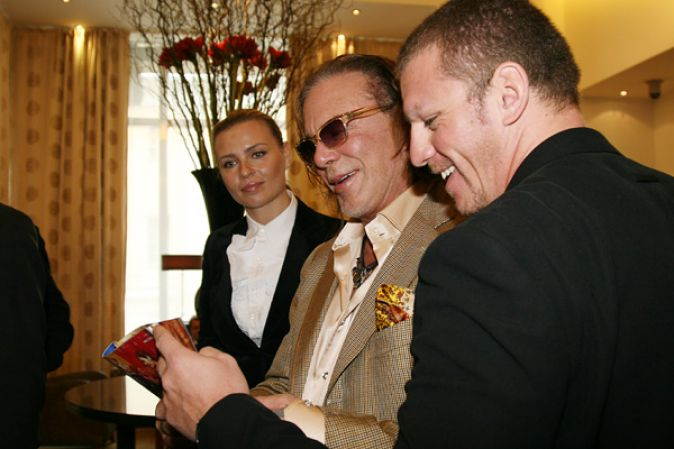 Микки Рурк в Москве