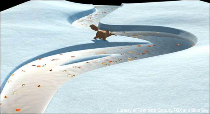 Концепт-арт к «Ледниковым периодам»