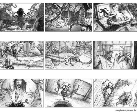 «Девять» в рисунках