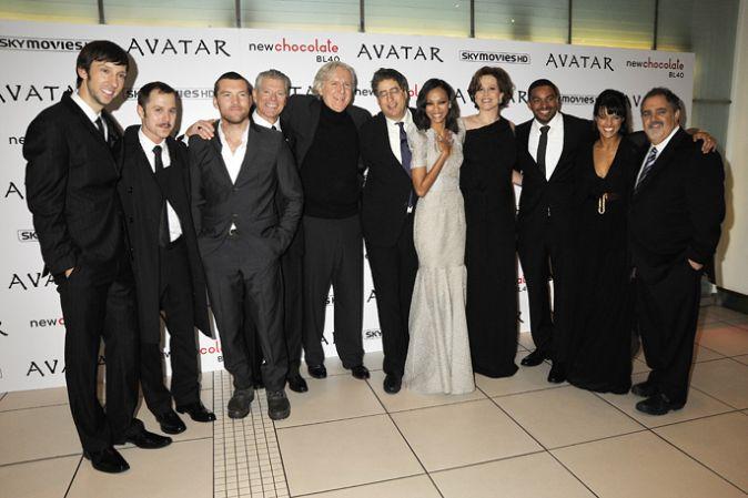 Премьера фильма «Аватар» в Лондоне