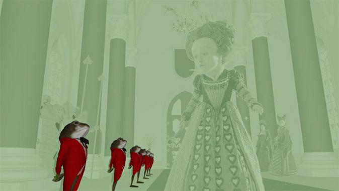 «Алиса в стране чудес»: эскизы, концепт-арт, промо, пошаговые развертки кадров